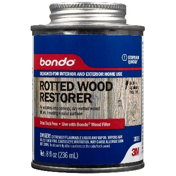 Bondo Rotted Wood Restorer ~ 8 oz