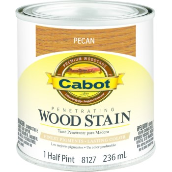 Wood Stain - Pecan - 1/2 pint