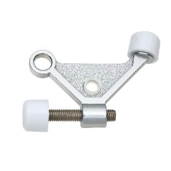 National 274084 Hinge Pin Door Stop, Satin Chrome