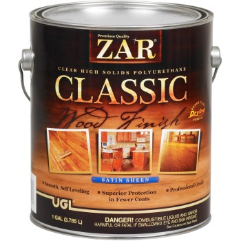 Classic Polyurethane Wood Finish, Satin ~ Gallon
