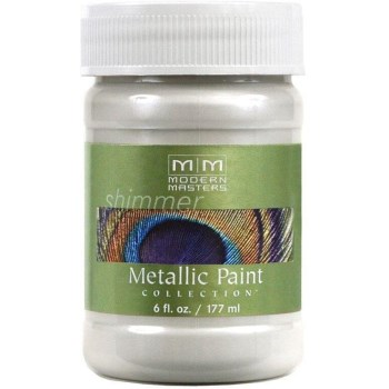Metallic Paint, Pearl White 6 Ounce