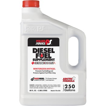 Power Service Diesel Fuel Supplement + Cetane Boost ~ 80 oz