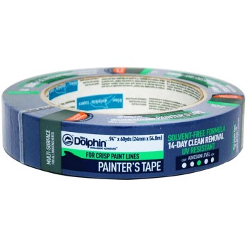 Blue Mask Tape, 60 yd ~ 1""