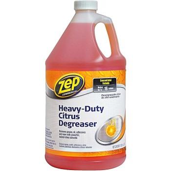Enforcer/ZEP ZUCIT128 Heavy Duty Citrus Degreaser/Cleaner  ~ Gallon