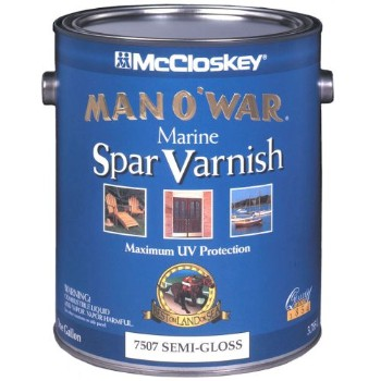 Spar Varnish-Low VOC, Semi-Gloss ~ Gallon