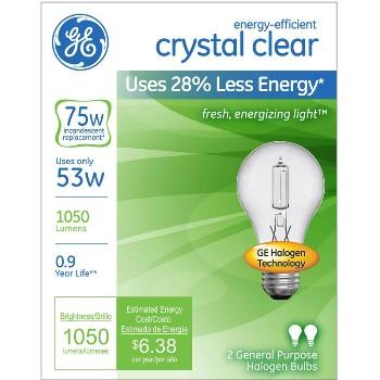 General Electric  78797 53w Ee Cc Halogen Bulb