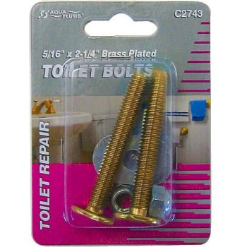 5/16x2-1/4 Toilet Bolts