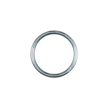 Zinc Plated Ring, 3155 bc #4 X 1-1/4 Inches