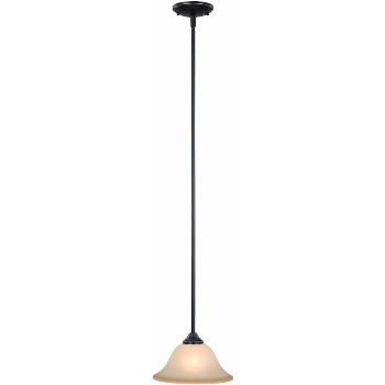Hardware House  127882 Pendant Light Fixture, Dover ~ Oil Rubd Bronze