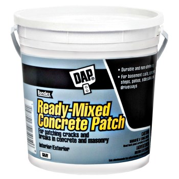 DAP Ready-Mixed Concrete Patch, Gray ~ Gallon