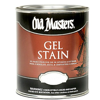 Gel Stain,  Golden Oak ~  Gallon