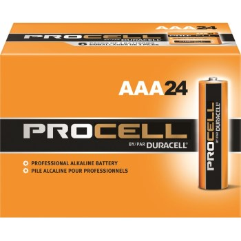 Alliance Distribution Partners Llc DURPC2400 24pk Pro Aaa Battery