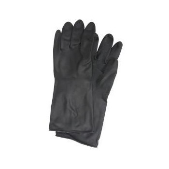 Xl Black Rubber Gloves