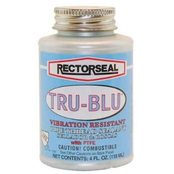 Rectorseal 31631 Tru-Blu Sealant, Blue ~ 1/4 Pint