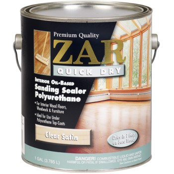 Quick Dry Polyurethane Sanding-Sealer, Satin ~ Gallon
