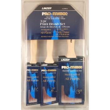 Linzer  A2760S 3pc Pro Maxx Brush Set