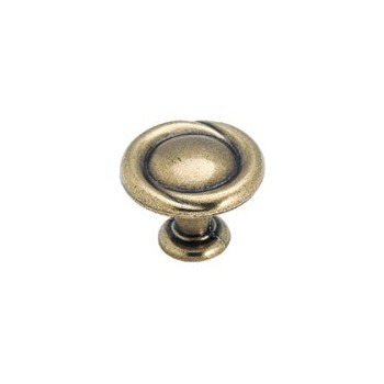 Knob - Regency Brass Finish - 1.25 inch
