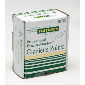Glazier Points, Stacked - 3/8""