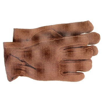 Split Leather Gloves - Unlined - Medium