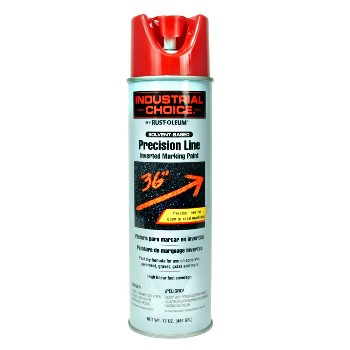Rust-Oleum 203029 Inverted Marking Paint,   Safety Red ~ 17oz Cans