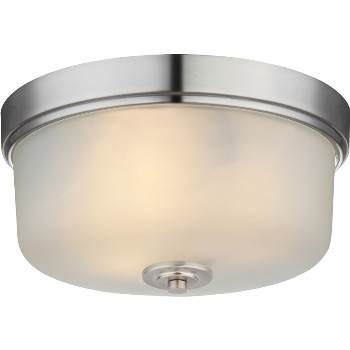 Lexington Ceiling Fixture, 3 Light ~ Satin Nickel