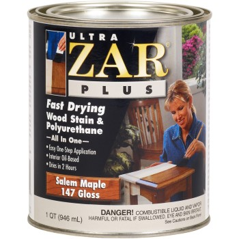 Gloss Salem Maple Stain, Quart