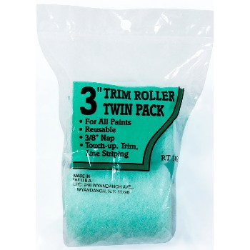 Trim Roller Cover Twin Pack ~ 3""