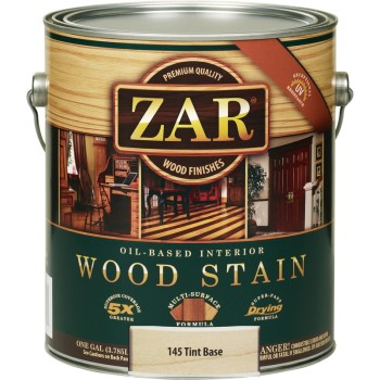 ZAR  Oil-Based Wood Stain, Tint Base ~ Gallon
