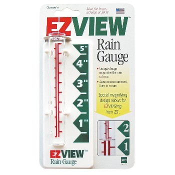Rain Gauge, Easy Read