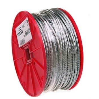 "Uncoated Cable, 7 x 7  ~ 1/16"" X 500 Ft"