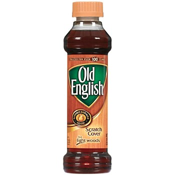 Old English  Scratch Remover for Light Woods ~ 8 Oz