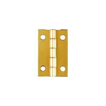 Solid Brass/Pb Hinge, Visual Pack 1801 1 - 1/2 x 1 inches