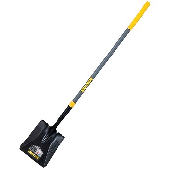 "Ames   2585500 Square Point Shovel,  47"" Fiberglass Handle ~ 16g Blade"
