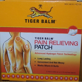 5ct. Tiger Balm Patch