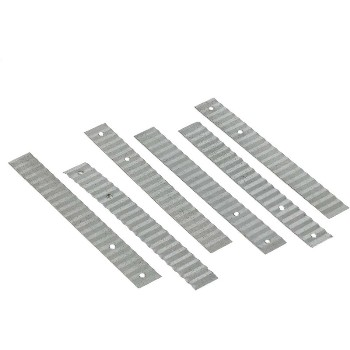 "Galvanized Wall Ties ~ 7/8"" x 7"""