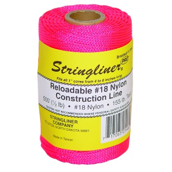 Stringliner 35462 Construction Line, Pink  ~ 500