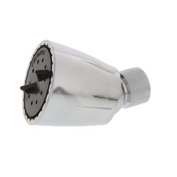 AquaPlumb Adjustable Spray Shower Head ~ Chrome Plated Finish