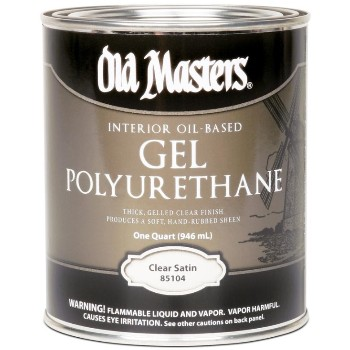 Gel Polyurethane, Clear ~ Quart
