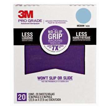 3m 051141342790 Sandpaper, Pro Grade ~ 180 Grit