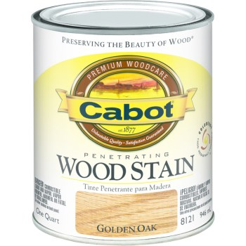 Wood Stain - Golden Oak - 1 quart