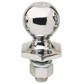 Chrome 2in. Hitch Ball