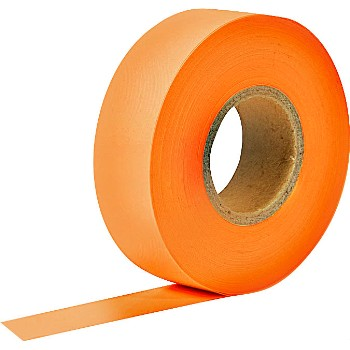 Flagging Tape,  Glo Orange