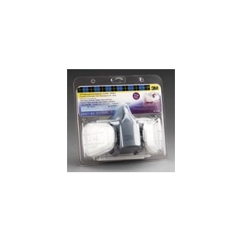 3M 051131527652 Respirator Mask - Medium