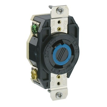 Locking Flush Receptacle~ 30 Amp