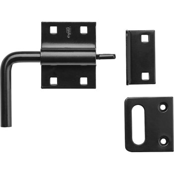 Gate Slide Bolt Hatch ~ Black