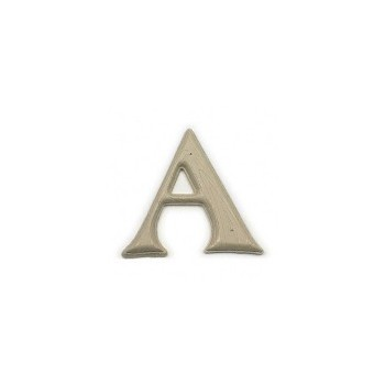 House Letter A,  Simulated Wood-Grain Letter ~ 7""