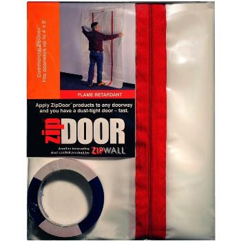 Zipwall ZDC Commercial Doorway Zipdoor ~ 4 x 8