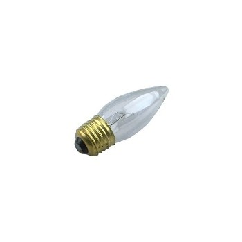 Chandelier Light Bulb, Clear 120 Volt 40 Watt