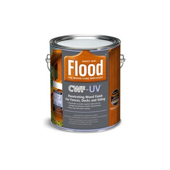 Flood Brand CWF-UV Pro Series Deck/Siding Stain, Cedar ~ Gallon