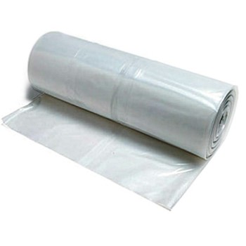 Coverall Plastic Sheeting,  Clear ~ 20 x 25 Ft x  6 Mil